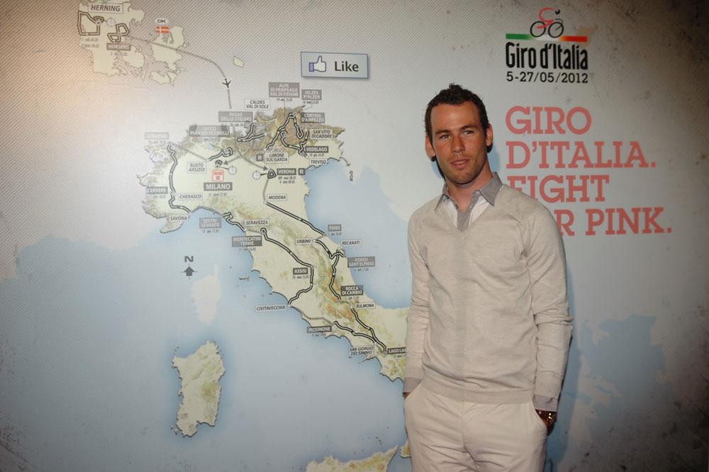 Le tracé 2012 du Giro séduit-il Mark Cavendish ?