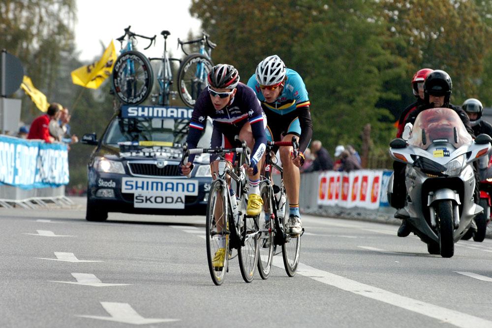 Alexis Gougeard et Daan Myngheer