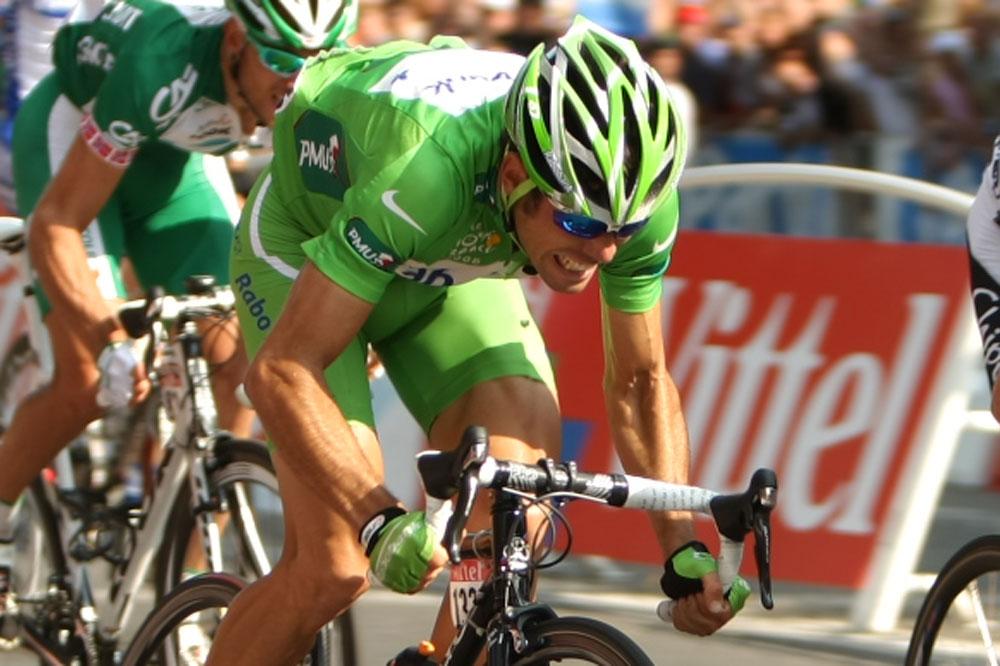 Oscar Freire en Vert sur le Tour 2008