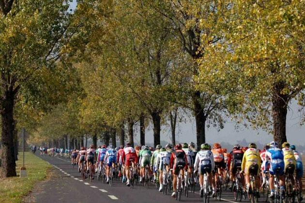 Le peloton de Paris-Tours