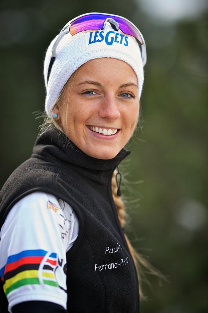 Pauline Ferrand-Prévot ambassadrice des Gets