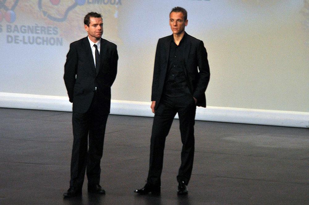 Philippe Gilbert et Cadel Evans, futurs coéquipiers chez BMC
