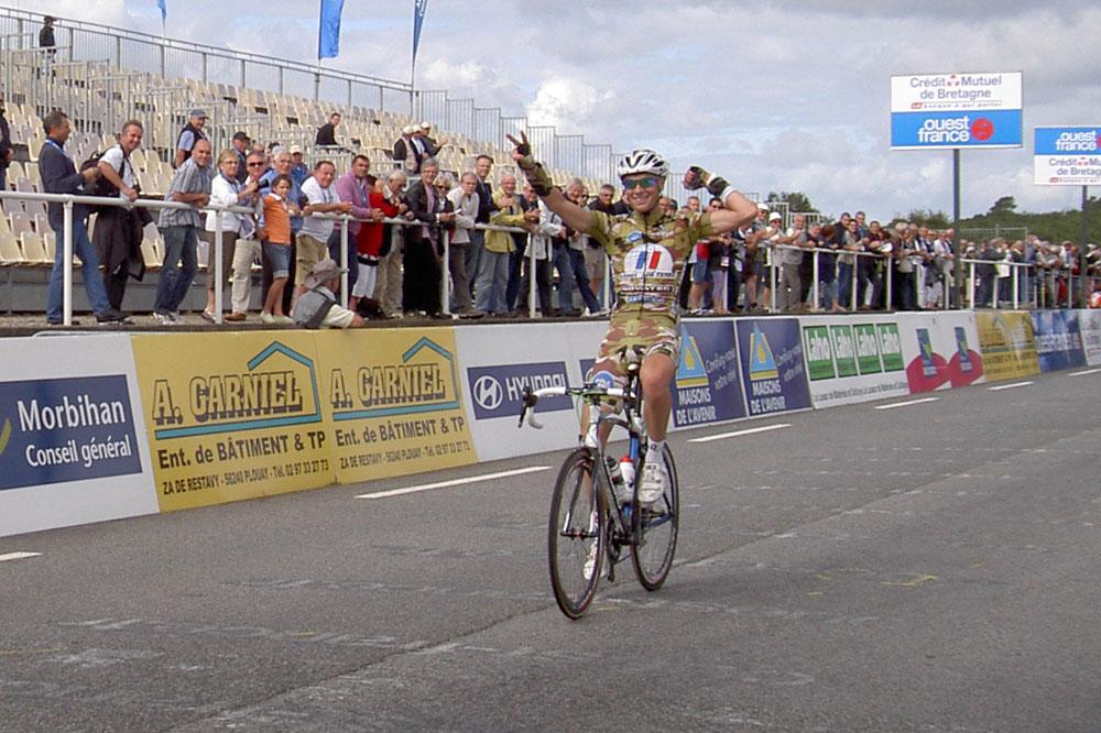 Yann Guyot renoue avec une victoire à Plouay