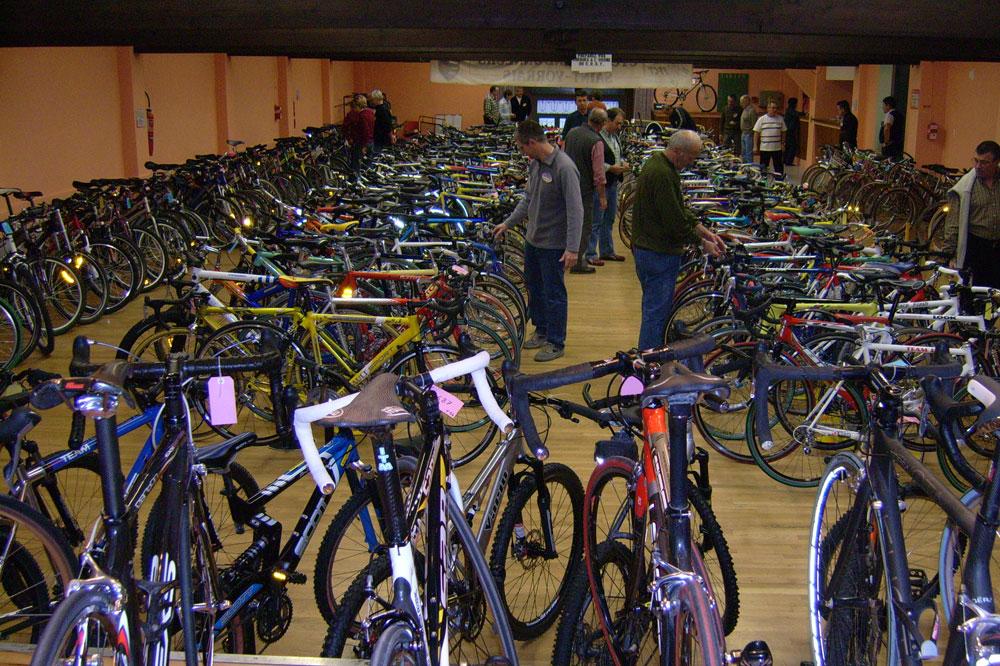 La Bourse aux vélos de Saint-Yorre
