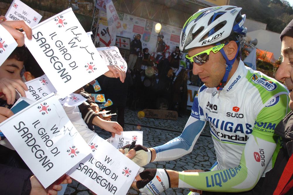 Vincenzo Nibali jouit de sa popularité