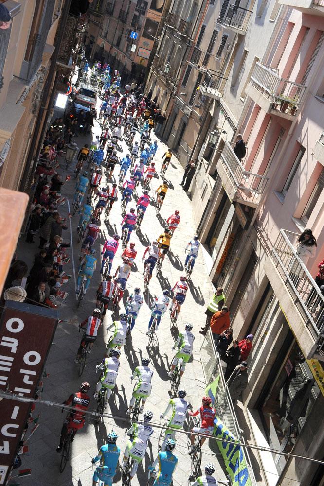 Le cyclisme à l'accent italien