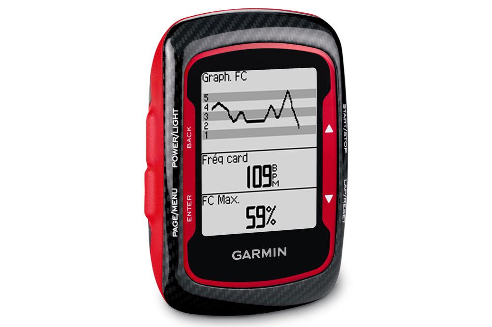 Le Garmin Edge 500 Red