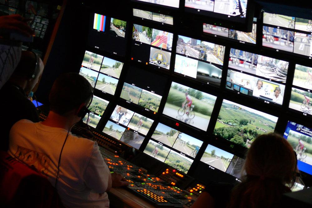 Le Tour de France est retransmis dans le monde entier