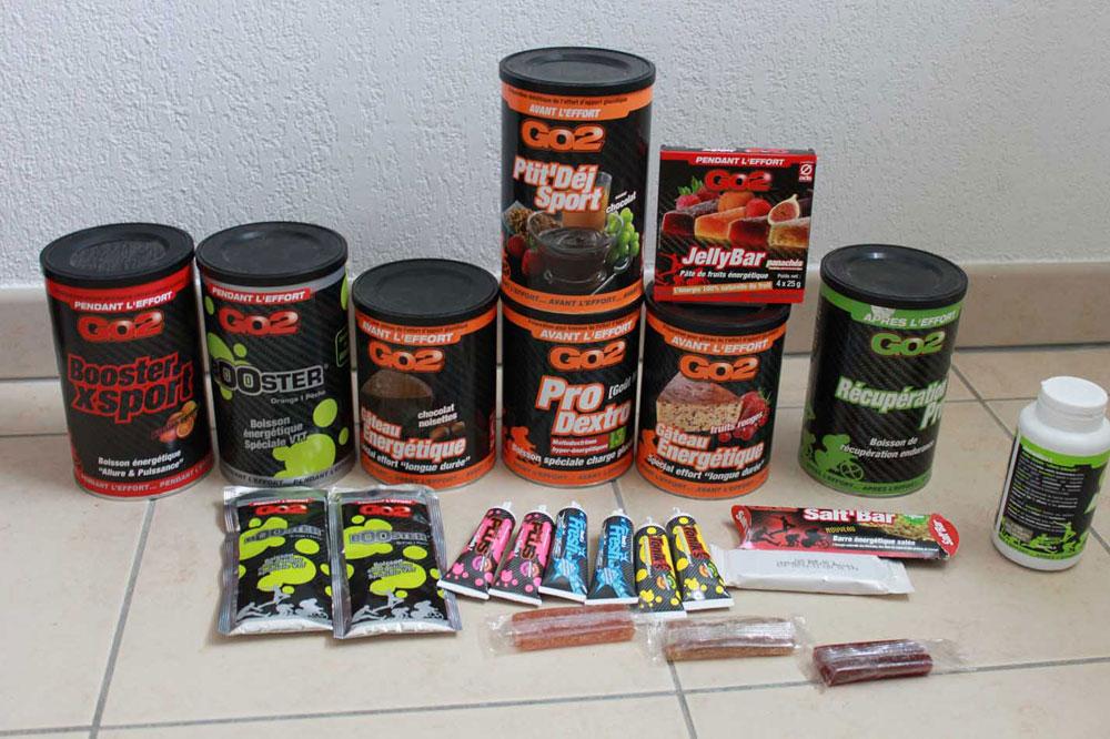 Les produits de la gamme GO2