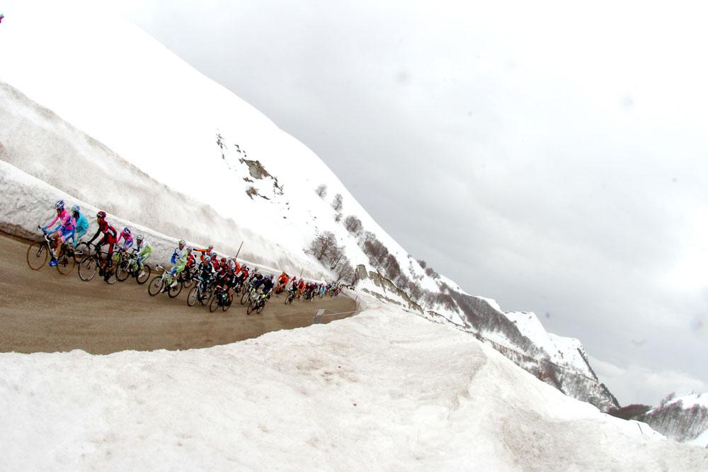 De la neige au Sasso Tetto