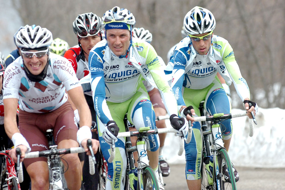 Ivan Basso et Vincenzo Nibali