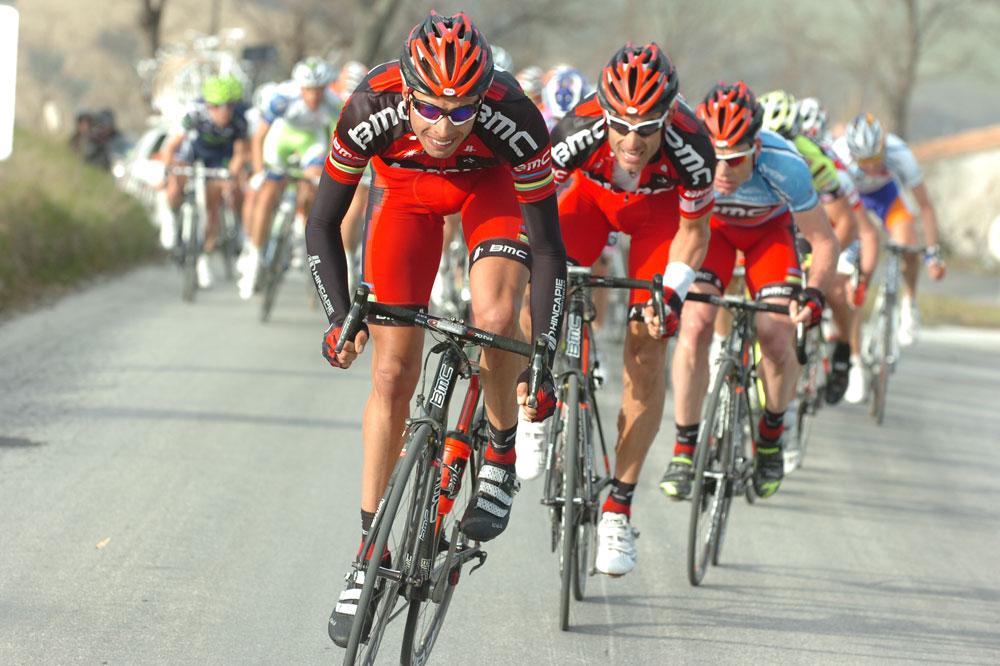 Alessandro Ballan et les BMC dynamitent le peloton