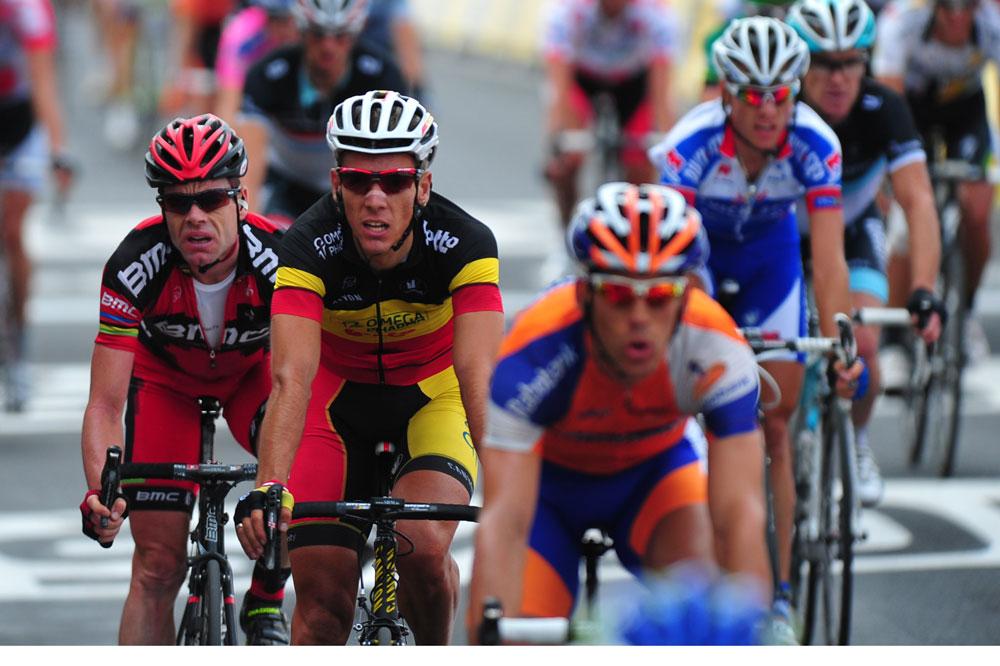 Philippe Gilbert et Cadel Evans