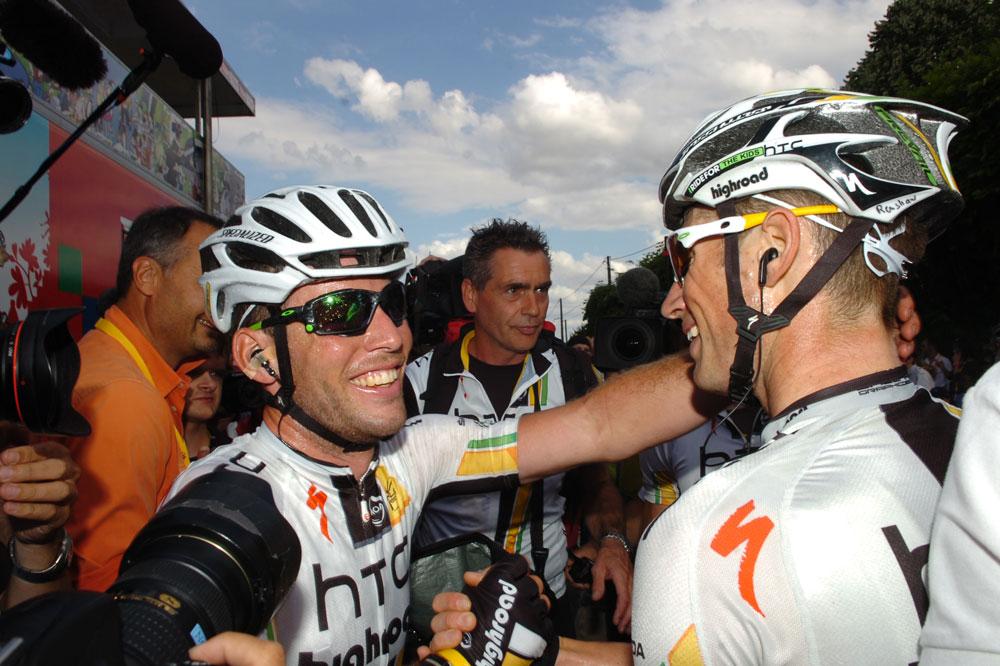 Mark Cavendish remercie ses équipiers