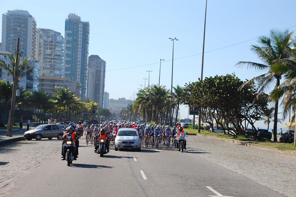 Le peloton quitte Rio