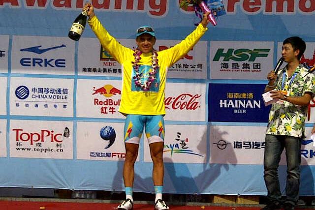 Valentin Iglinskiy comme chez lui au Tour de Hainan