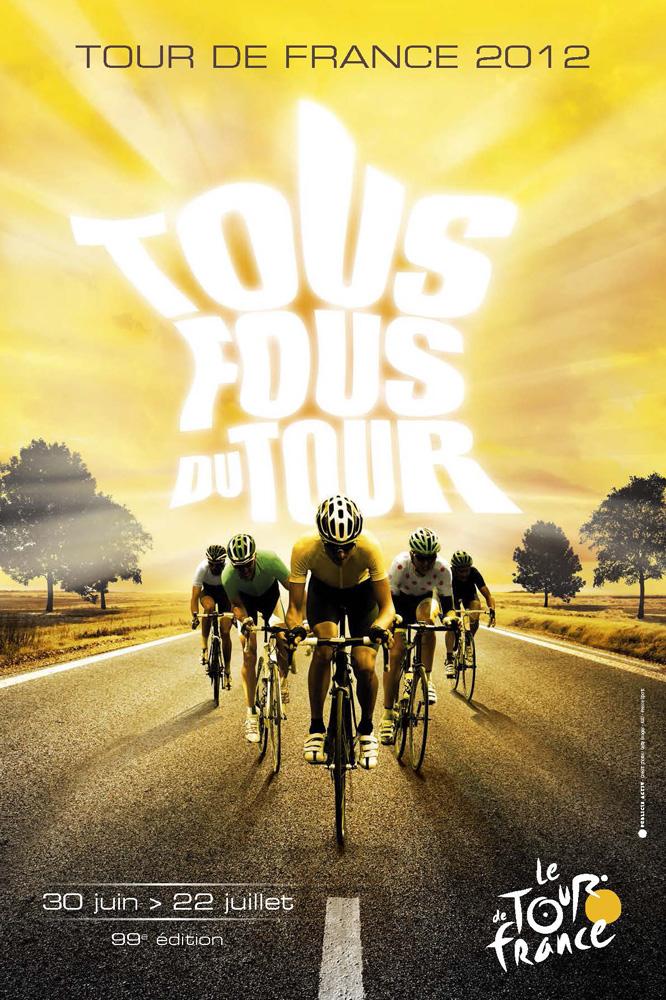 Visuel du Tour de France 2012