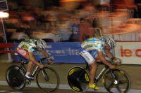Les sprinteurs Palma et Lafargue