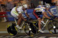 Le sprint entre François Pervis et Grégory Baugé