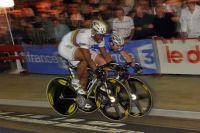 Sprint final entre Grégory Baugé et François Pervis