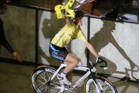 Soline Lamboley aux terme de la course aux points