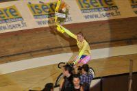 Soline Lamboley remporte le National Piste des Jeunes Féminines
