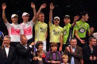 Le podium des Six Jours de Grenoble 2011