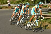 L'équipe Astana mène le tempo