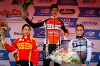 Le podium du Challenge National Cadettes de Besançon