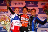 Le podium du Challenge National Dames de Besançon