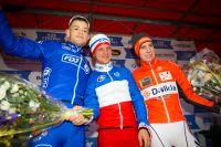 Le podium du Challenge National Elites de Besançon