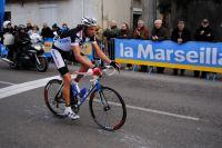 Bram Schmitz longtemps échappé solitaire dans la 2ème étape