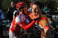 Samuel Dumoulin et Anthony Ravard se congratulent