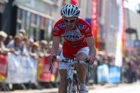Fabien Bassière termine sa course avec panache