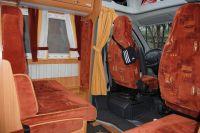 L'espace pour les transferts en bus