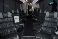 Les bus des équipes