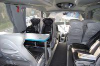 L'avant du bus du Team Europcar