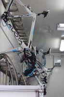 L'espace pour ranger les vélos chez Ag2r La Mondiale