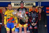 Le podium de la Ronde du Canigou