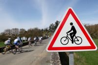 Attention, passage de cyclistes !