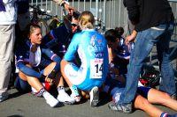 L'équipe de France Juniors Dames