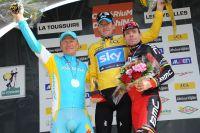 Le savoureux podium du Dauphiné 2011