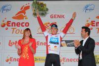 Edvald Boasson-Hagen et son maillot Blanc de leader de l'Eneco Tour