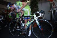 Fabio Sabatini prépare son vélo