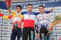 Le podium du Championnat de France Juniors