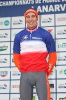 Matthieu Boulo heureux sur le podium de conserver son titre