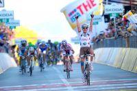 John Gadret lève enfin les bras sur le Tour d'Italie
