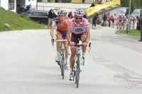A maintes reprises, Alberto Contador s'amuse à tester ses adversaires