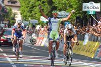 Eros Capecchi triomphe sur le Tour d'Italie