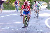 A l'attaque, Michele Scarponi distance Vincenzo Nibali